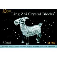 9063 пазлы 3D кристалл коза