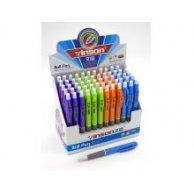 406 Ручка кулькова, автомат, синя, Vinson