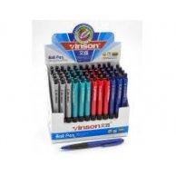 505 Ручка кулькова, автомат, синя, Vinson