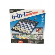 4404 S игра шахматы 6в1