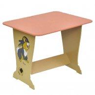 6231 Стол парта Зайчик цвет розовый МАСЯ