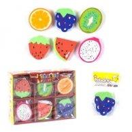 36957 С Стирательная резинка  фрукты