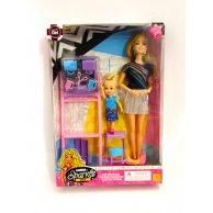 116 В  Кукла с аксессуарами