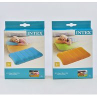 68676 NP Intex Надувная подушка цветная