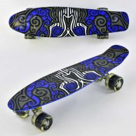 6510 F  Скейт Пенни борд Best Board 55 см