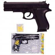 729 Пистолет пульки,в пакете 16,5см