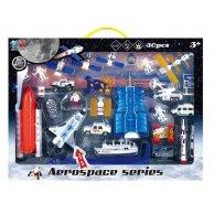 XY 351 Космическая техника (12/2) 30 игровых деталей, металлопластик, свет, звук, в коробке