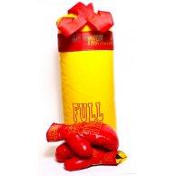 Боксерская  груша  FULL жолт.