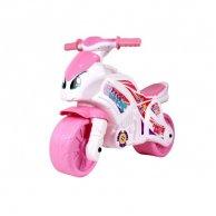 6450 Мотоцикл біло-рожевий на видувних колесах