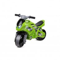 6443 Мотоцикл зелений на видувних колесах ТЕХНОК