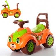 3268 Авто для прогулянок Леопардик (оранжева)