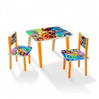 С 083 Столик МИНИ Инфинити надо  60*46 см. /столик + 2 стула