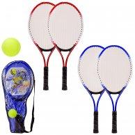 BT2122 Ракетка для большого тенниса с мячом в чехле – 24*2.5*54 см