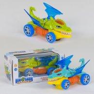 YX 002 Машинка  Динозаврик  свет, звук в коробке