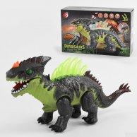 KQX 43 Динозавр   свет, звук, пар, ходит, в коробке