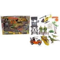 2103-3 Набор техники   с динозаврами, аксессуары, в коробке
