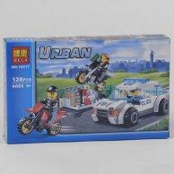 Конструктор  Bela Urban ) Полицейская погоня 128 деталей, в коробке