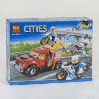 10655 Конструктор Bela Cities  Ограбление на буксировщике, 158 дет