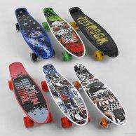 00164 S Скейт Пенни борд Best Board  свет