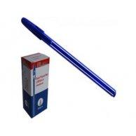 555 LR Ручка шариковая синяя Leader