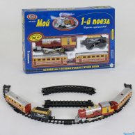 0615 Железная дорога 380 см. на батарейках в коробке