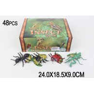 2 S Животные насекомые,48 шт/уп