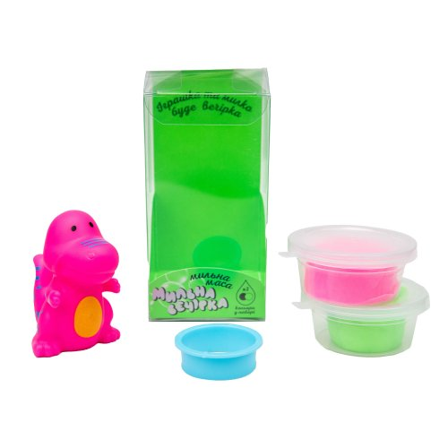 32106 Набор для творчества Мыльная вечеринка розовый динозавр