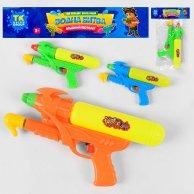 ТК 67408 Водный пистолет с накачкой, 3 цвета, в кульке