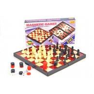 9831 Шахматы магнитные в коробке