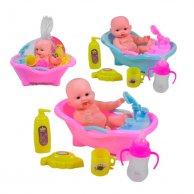5588 LB/D Пупс с ванночкой