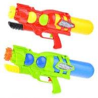 298 Водный пистолет с насосом, в пакете 53*23*10см