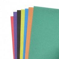 852235 Набор цветного картона+бумага  7цв, 14л..