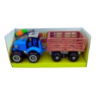 0488-803 BQ Трактор в коробке 34,5*12,5*16 см