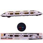 9 LXS Поезд батар. свет, звук, в кор. 52.5*5.5*7.5 см, р-р игрушки – 52*5*6.5 см