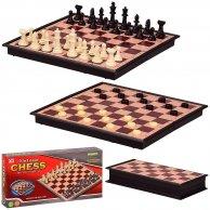 3136 Шахматы 2 в 1, в кор. 24*4*12 см, р