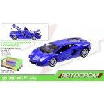68254 А Машина металл  АВТОПРОМ Lamborghini Aventador